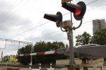 Нарушение правил на переезде Хабаровск